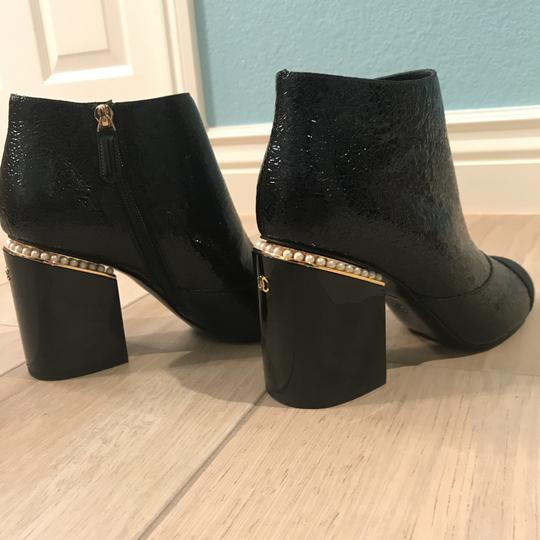 Chanel Classic Chic And Shiny black Boots Image 8