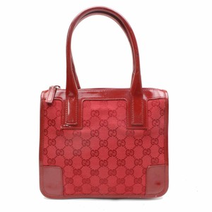 435085561 Added to Shopping Bag. Gucci Sylvie Marmont 2017 Vintage Tote in Red  Guccissima. Gucci Gg Small ...