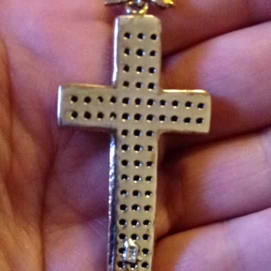 Other Silver Fancy Cross on a Silver Chain