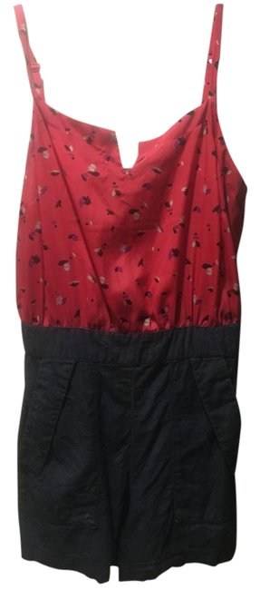 Preload https://item5.tradesy.com/images/bcbgeneration-red-bcbg-mini-romperjumpsuit-size-8-m-2234999-0-2.jpg?width=400&height=650