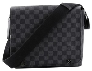 Louis Vuitton Messenger Graphite Black Messenger Bag