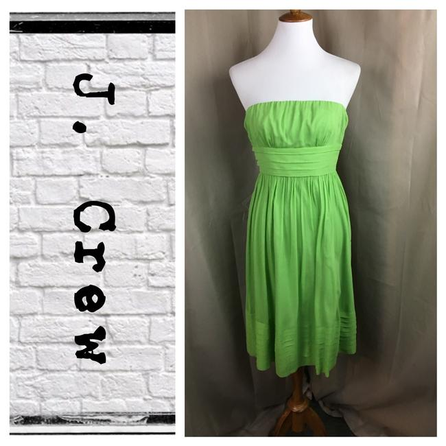 Preload https://img-static.tradesy.com/item/22350602/jcrew-lime-strapless-mid-length-cocktail-dress-size-0-xs-0-0-650-650.jpg