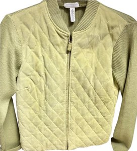 Charter Club Small Sweater Green Jacket
