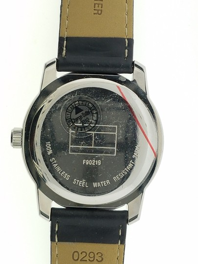 Tommy Hilfiger 140014 Women's Black Leather Band Genuine Watch Image 1