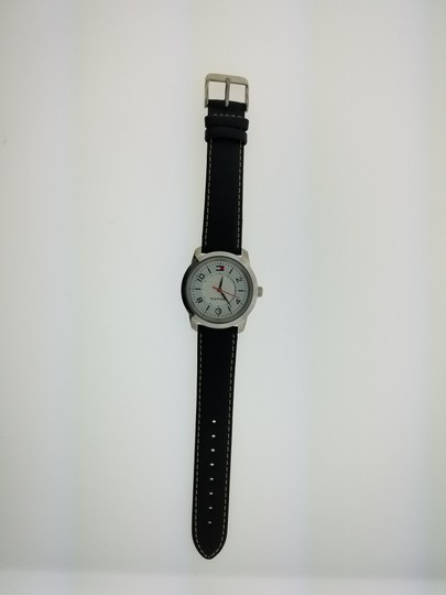 Tommy Hilfiger 140014 Women's Black Leather Band Genuine Watch Image 2