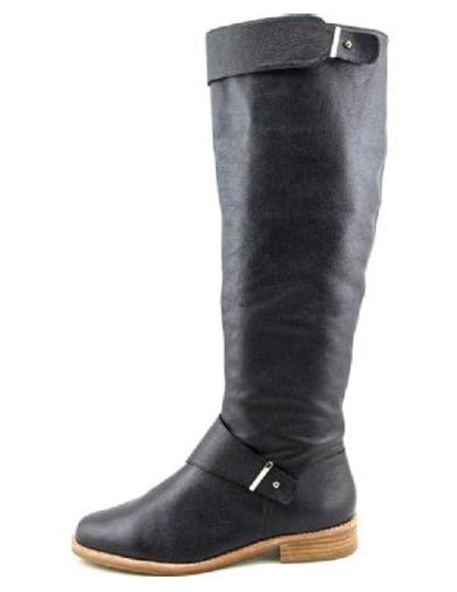 French Connection Leather Black Boots Image 1