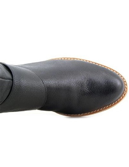 French Connection Leather Black Boots Image 2