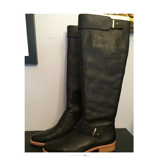 French Connection Leather Black Boots Image 7