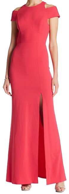 Preload https://img-static.tradesy.com/item/22350895/abs-by-allen-schwartz-pink-shoulder-cut-out-gown-long-formal-dress-size-4-s-0-3-650-650.jpg