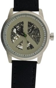 Lucky Brand 180018 Men's Black Leather Band Genuine Watch