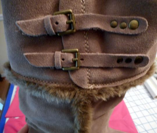 Bare Traps New Fur Linning Suede Color: Whiskey tan Boots Image 3
