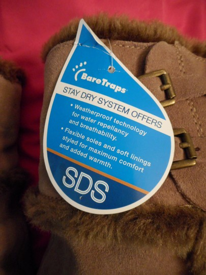 Bare Traps New Fur Linning Suede Color: Whiskey tan Boots Image 5