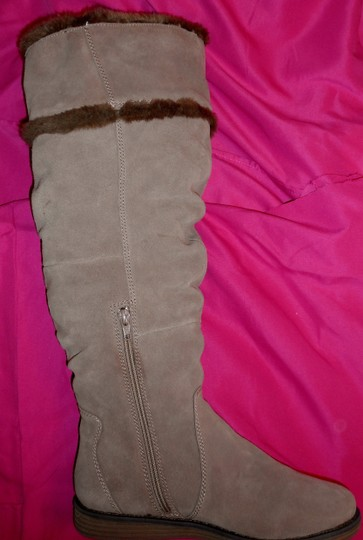 Bare Traps New Fur Linning Suede Color: Whiskey tan Boots Image 7