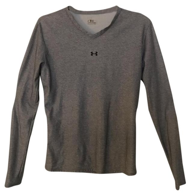 Preload https://img-static.tradesy.com/item/22351547/under-armour-light-grey-v-neck-stretchy-heat-gear-activewear-sportswear-size-12-l-32-33-0-1-650-650.jpg
