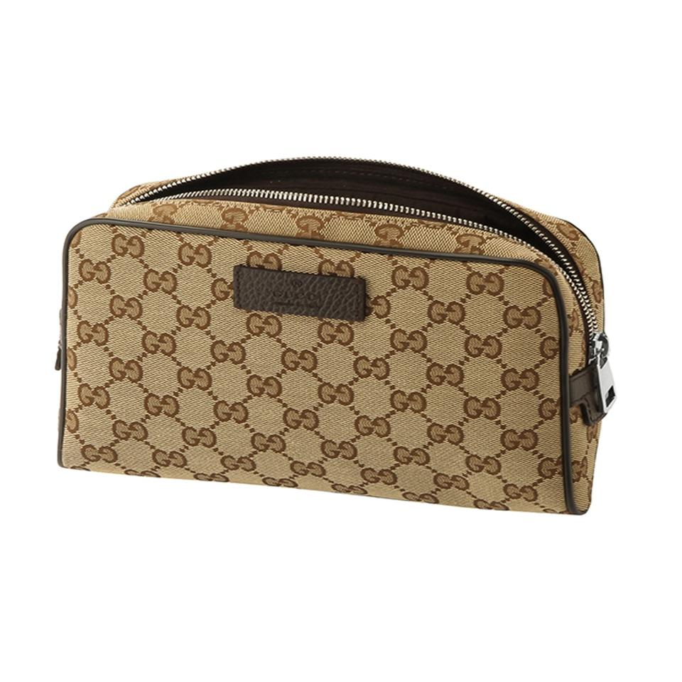 3dadaef46293 Gucci Fanny Pack Waist Bag Guccissima Small Beige/brown | Stanford ...