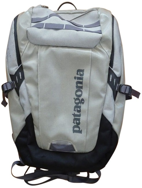Item - Model Black-hole Silver-gray Polyester Backpack