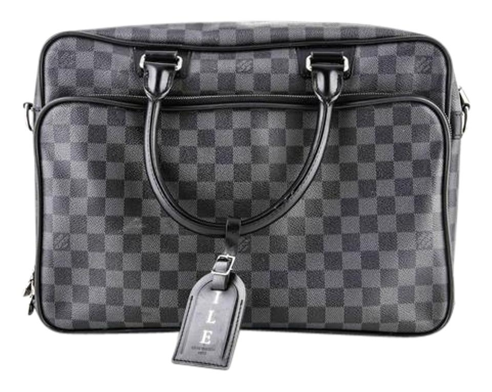 78a04d5f Louis Vuitton Icare Damier Graphite Black Coated Canvas Weekend/Travel Bag  32% off retail