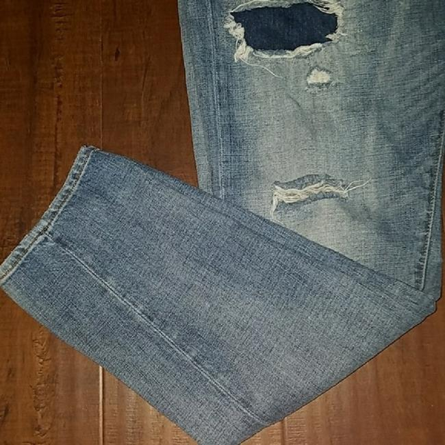 Denim & Supply Distressed Boyfriend Cut Jeans-Medium Wash Image 3
