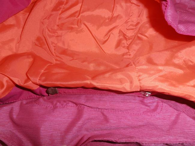 The North Face Down Hooded 3 In 1 Thermoball purple/orange Jacket Image 6