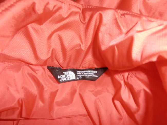 The North Face Down Hooded 3 In 1 Thermoball purple/orange Jacket Image 9