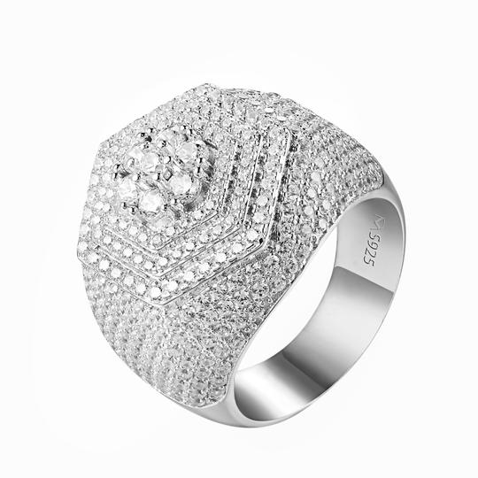 Preload https://img-static.tradesy.com/item/22352158/master-of-bling-white-men-hip-hop-solitaire-cluster-set-simulated-diamonds-925-silver-ring-0-0-540-540.jpg