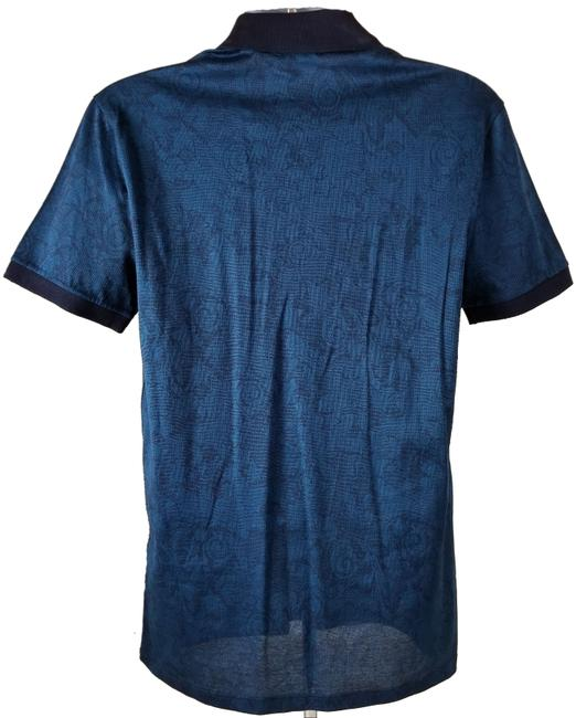 Versace Collection T Shirt Blue Image 2