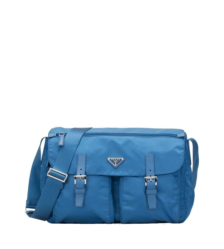 a236d6de4cc7 coupon code for prada diaper nylon blue messenger bag 1120c 3f352
