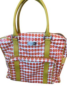 Jane marvel large tote with leather handles Tote in Yellow, red, & white
