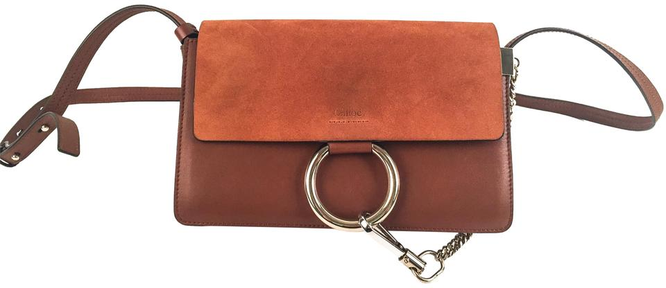 1cebe606fb Chloé Brown Suede Leather Cross Body Bag - Tradesy