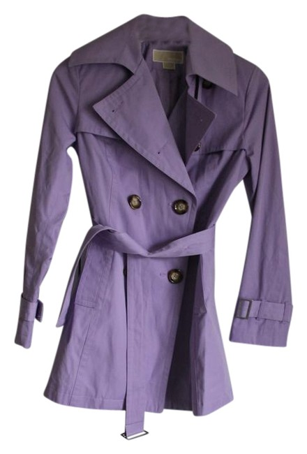 Item - Lilac Belted 3/4 Coat Size 6 (S)