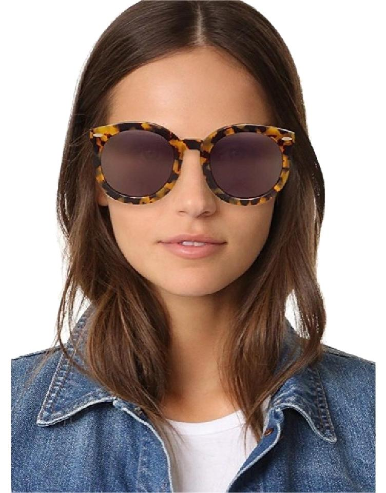97674af9b6 Karen Walker Crazy Tort Super Duper Strength Sunglasses - Tradesy