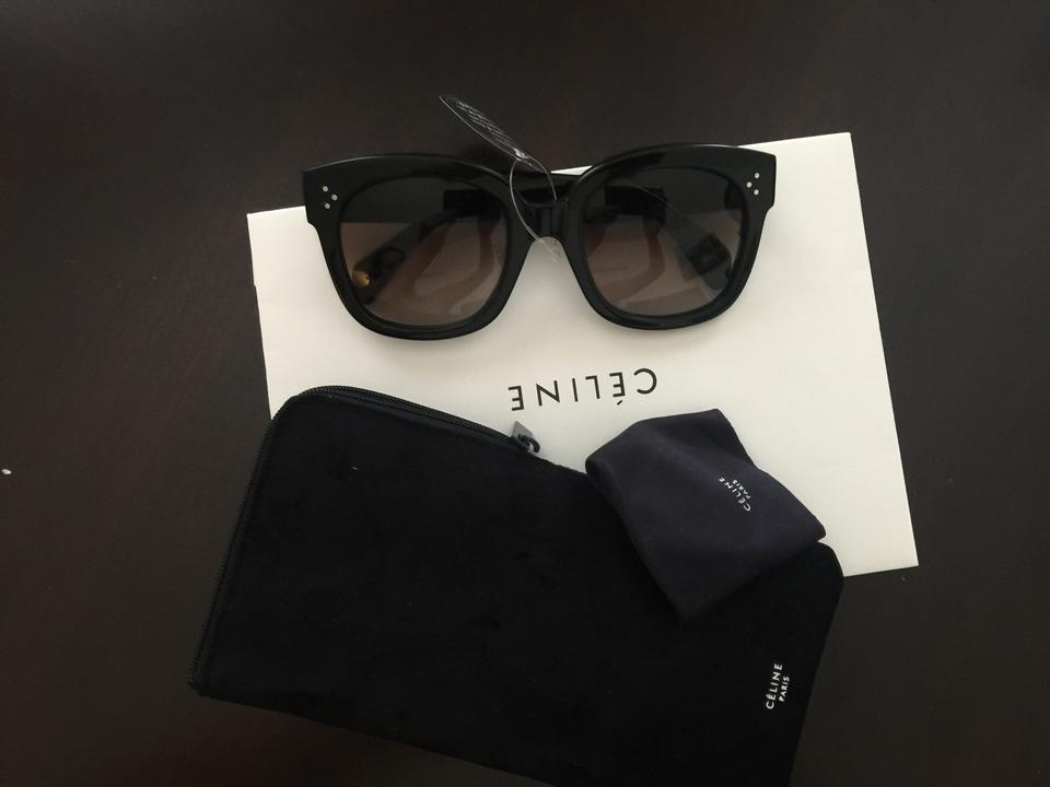 f9efa6f9e57 Céline Black Flash Sale Cl 41805 New Audrey Sunglasses - Tradesy
