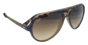 Ray-Ban RAY-BAN Sunglasses RB 4125 CATS 5000 710/51 59-13 Havana w/ Brown Fade