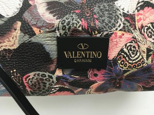 Valentino Rockstud Cambutterfly Tote in Multi Printed Leather Image 6