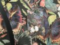 Valentino Rockstud Cambutterfly Tote in Multi Printed Leather Image 7