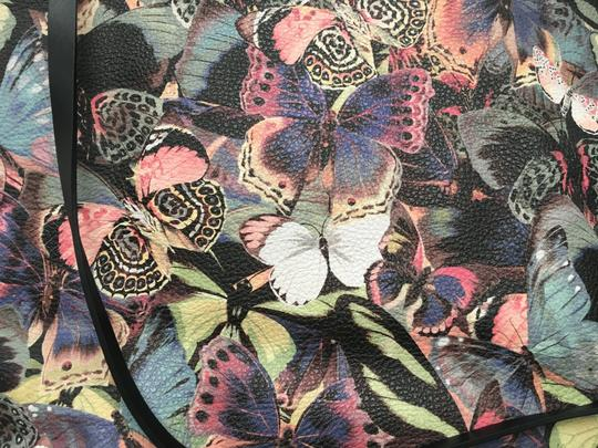 Valentino Rockstud Cambutterfly Tote in Multi Printed Leather Image 8