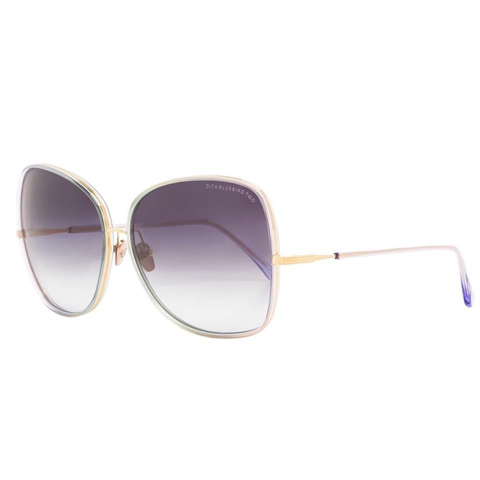 ae1129fcca63 Dita Dita Bluebird Two 21011d Purple crystal gold Gray Gradient Sunglasses  Image 0 ...