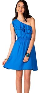 Francesca's short dress Periwinkle Blue on Tradesy