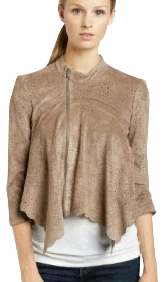 on polyvore liked jacket vince drapes pin suede draped looks