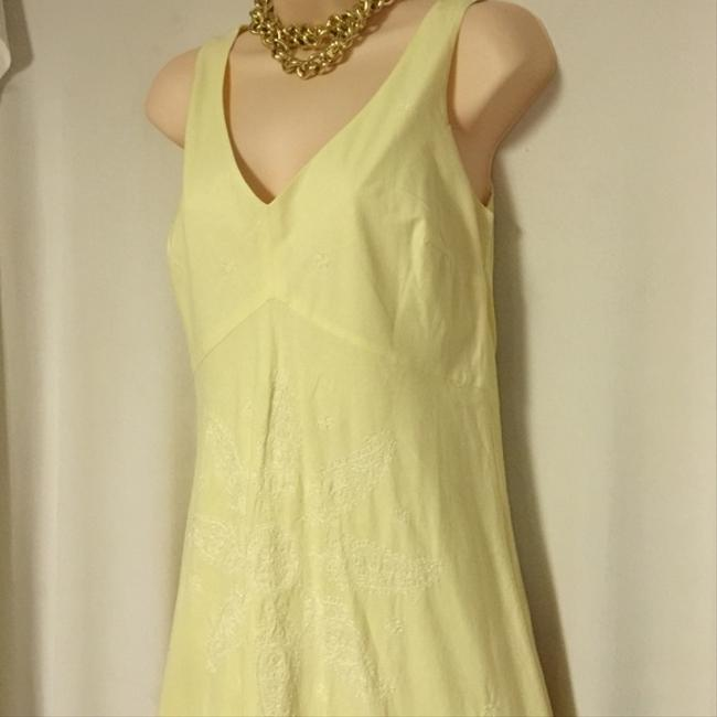J.CREW Classic Pastel Cotton Embroidered 6 New Dress