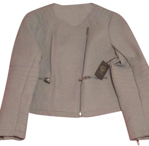 Vince Camuto Faux Leather Baby Blue Jacket
