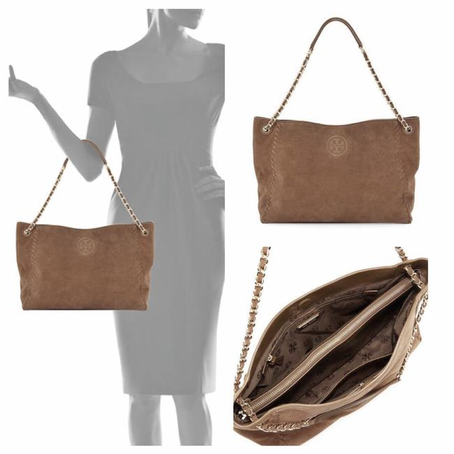 Item - Marion Brown Suede Leather Tote