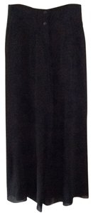 Karl Lagerfeld Palazzo Night Out Super Flare Pants Black