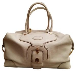 Tod's Satchel in Ivory