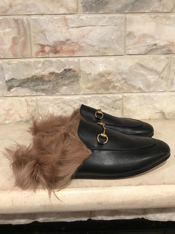 19ae6989d14 Gucci Princetown Loafer Mule Slipper black Flats Image 11. 123456789101112