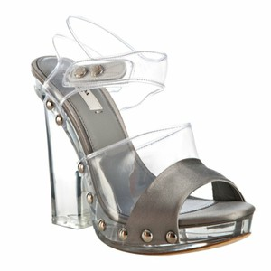 Prada Clear Platforms