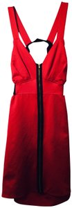 Maude short dress Bright Red Short Night Out on Tradesy