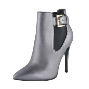 Just Cavalli Silver Gray Boots