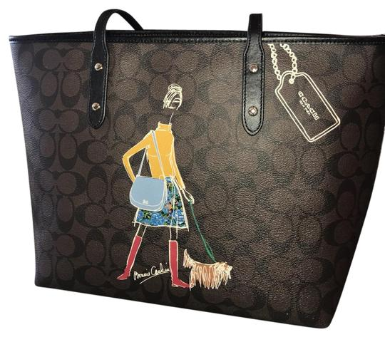 Preload https://img-static.tradesy.com/item/22356205/coach-bonnie-cashin-brown-coated-canvas-and-leather-tote-0-1-540-540.jpg