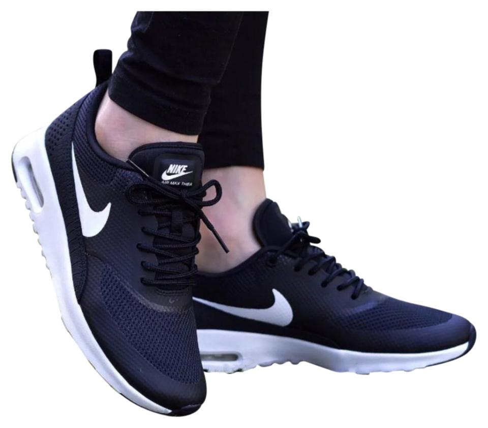 Nike Women's Air Max Thea Is Black + White Sneakers Is Thea Equipped with Comfortable Cushioning and Is Designed with A Sleek Sneakers c0bfea